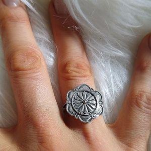 ❇️Sterling Flower Ring